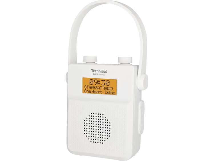 TechniSat DIGITRADIO 30 Zakradio DAB+, FM, DAB Bluetooth Waterdicht Wit