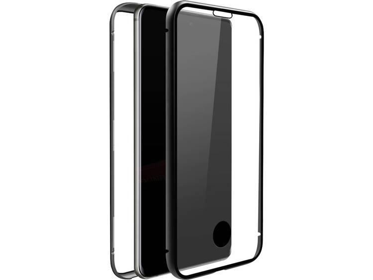 Black Rock 360° Glass Galaxy Case Samsung Galaxy S10 Lite Transparant, Zwart