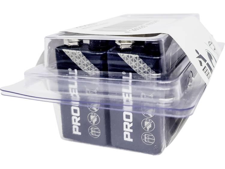 9V batterij (blok) Duracell 6LR61 Alkaline 10 stuks