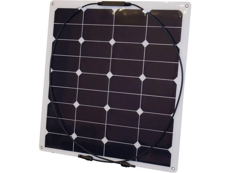 Phaesun Monokristallijn zonnepaneel 55 Wp 17.6 V Semi Flex 55