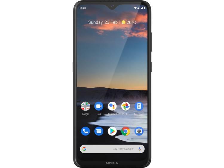 Nokia 5.3 LTE Dual-SIM smartphone 64 GB 6.55 inch (16.6 cm) Dual-SIM Android 1.0 13 Mpix, 5 Mpix, 2 Mpix, 2 Mpix Steenkool