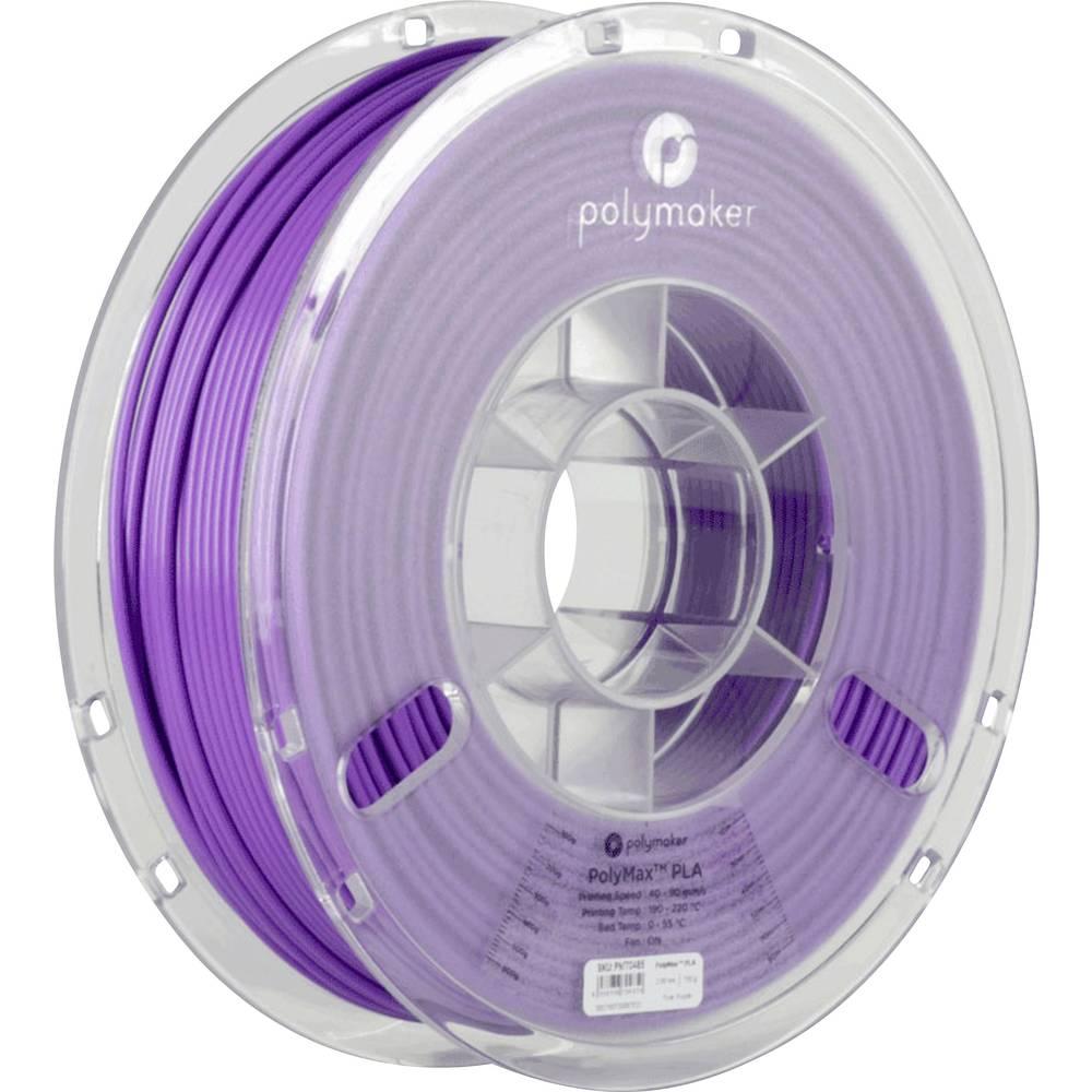 Polymaker 70484 PolyMax 3D-skrivare Filament PLA-plast 1.75 mm 750 g Lila PolyMax 1 st