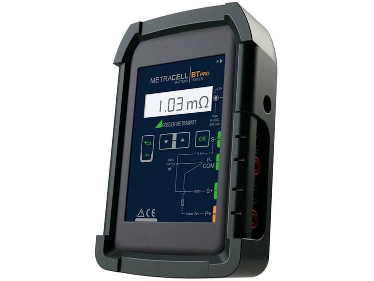 Gossen Metrawatt Batterijtester B100B Meetbereik (batterijtester) tot 600 V Accu, Batterij B100B
