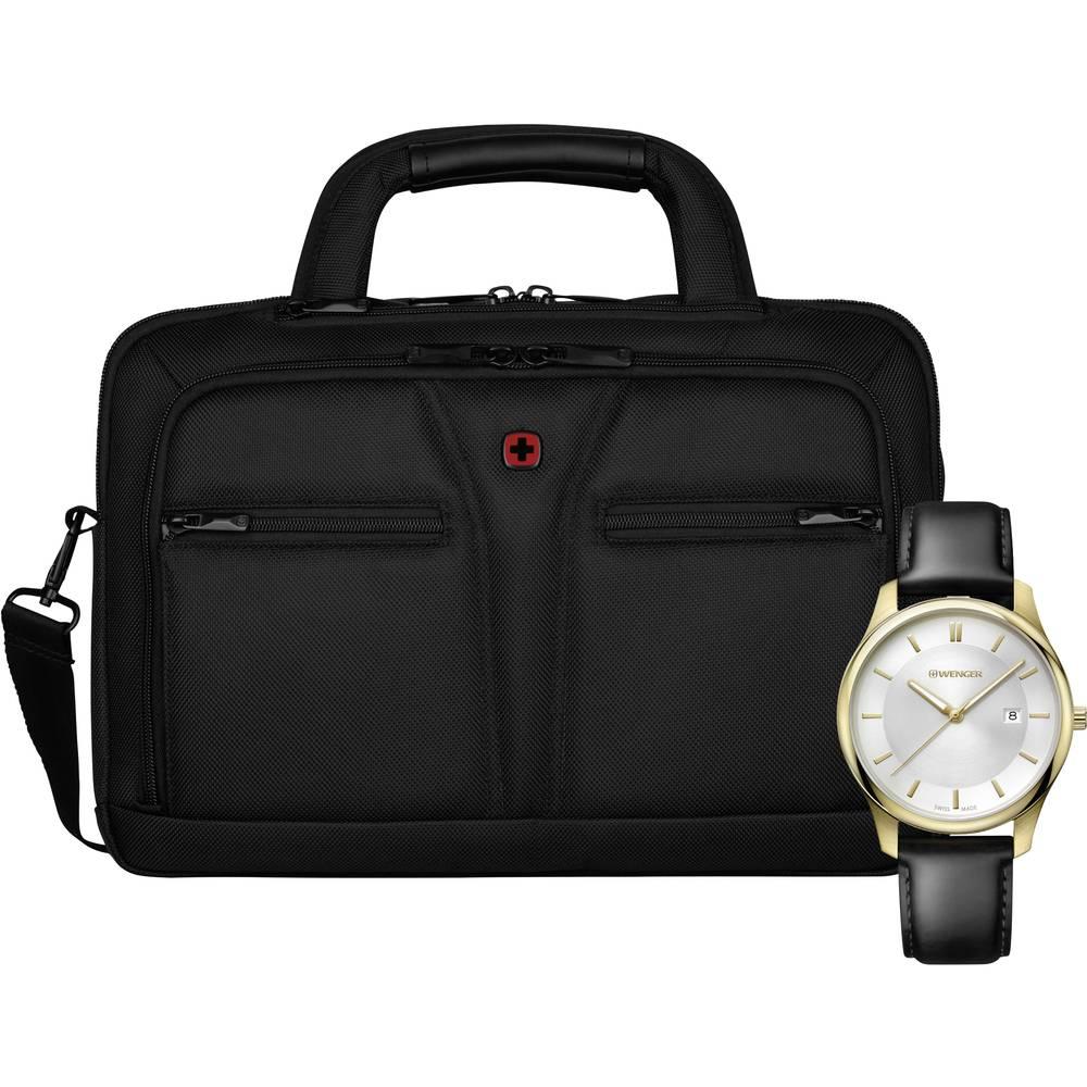 Wenger Datorväska BC Pro 11,6-13.3 + CITY CLASSIC Watch Ø43 mm Passar max.: 33,8 cm (13,3) Svart
