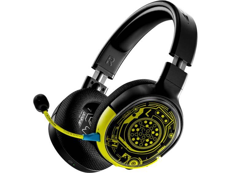 Steelseries Arctis 1 wireless Cyberpunk Edition Gaming headset Radiografisch 2.4 GHz, USB-C, 3.5 mm
