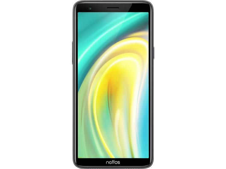 Neffos A5 Smartphone 16 GB 5.99 inch (15.2 cm) Dual-SIM Android 9.0 5 Mpix Donkergrijs kopen