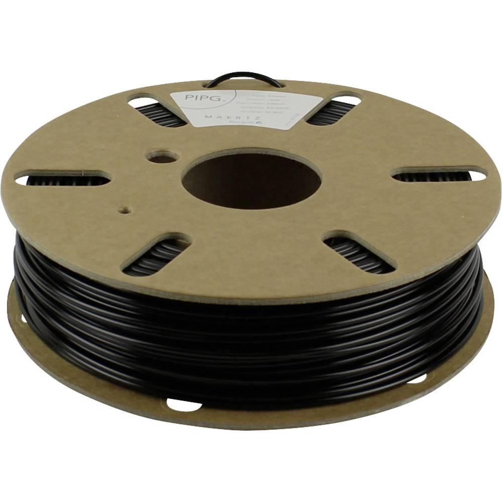 Maertz PMMA-1003-002 PETG 3D-skrivare Filament PETG 2.85 mm 750 g Svart 1 st