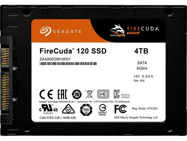 Seagate ZA4000GM1A001 SSD harde schijf (2.5 inch) 4 TB FireCuda® Retail SATA III kopen