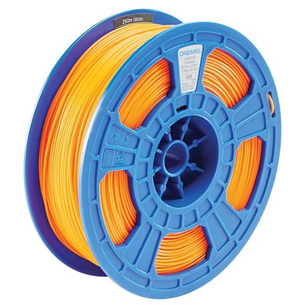 Dremel 2615PL04JA DR 3D PLA Filament D04 orange RFID Filament PLA kunststof 1.75 mm Oranje 750 g