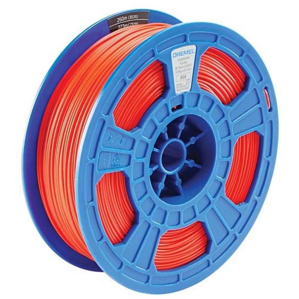 Dremel 2615PL03JA DR 3D PLA Filament D03 rot RFID 3D-skrivare Filament PLA-plast 1.75 mm Röd 750 g