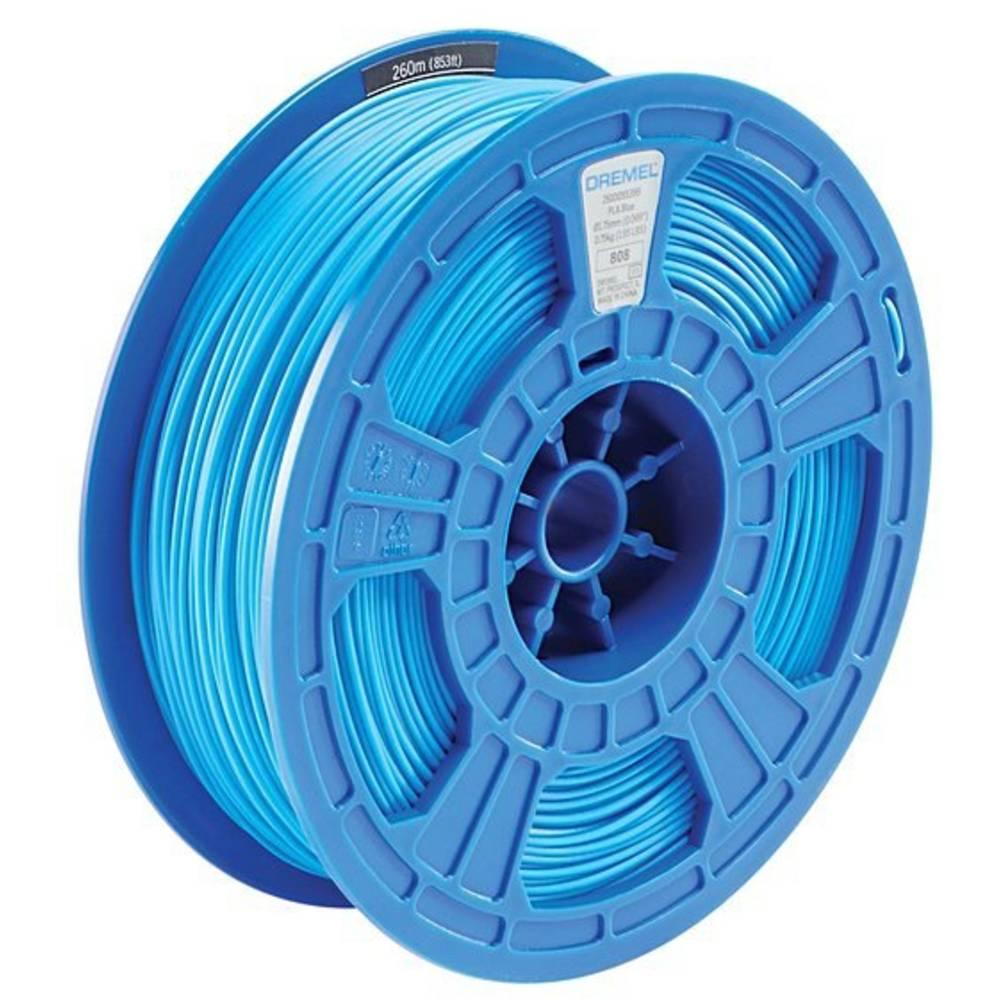 Dremel 2615PL06JA DR 3D PLA Filament D06 blau RFID Filament PLA kunststof 1.75 mm Blauw 750 g