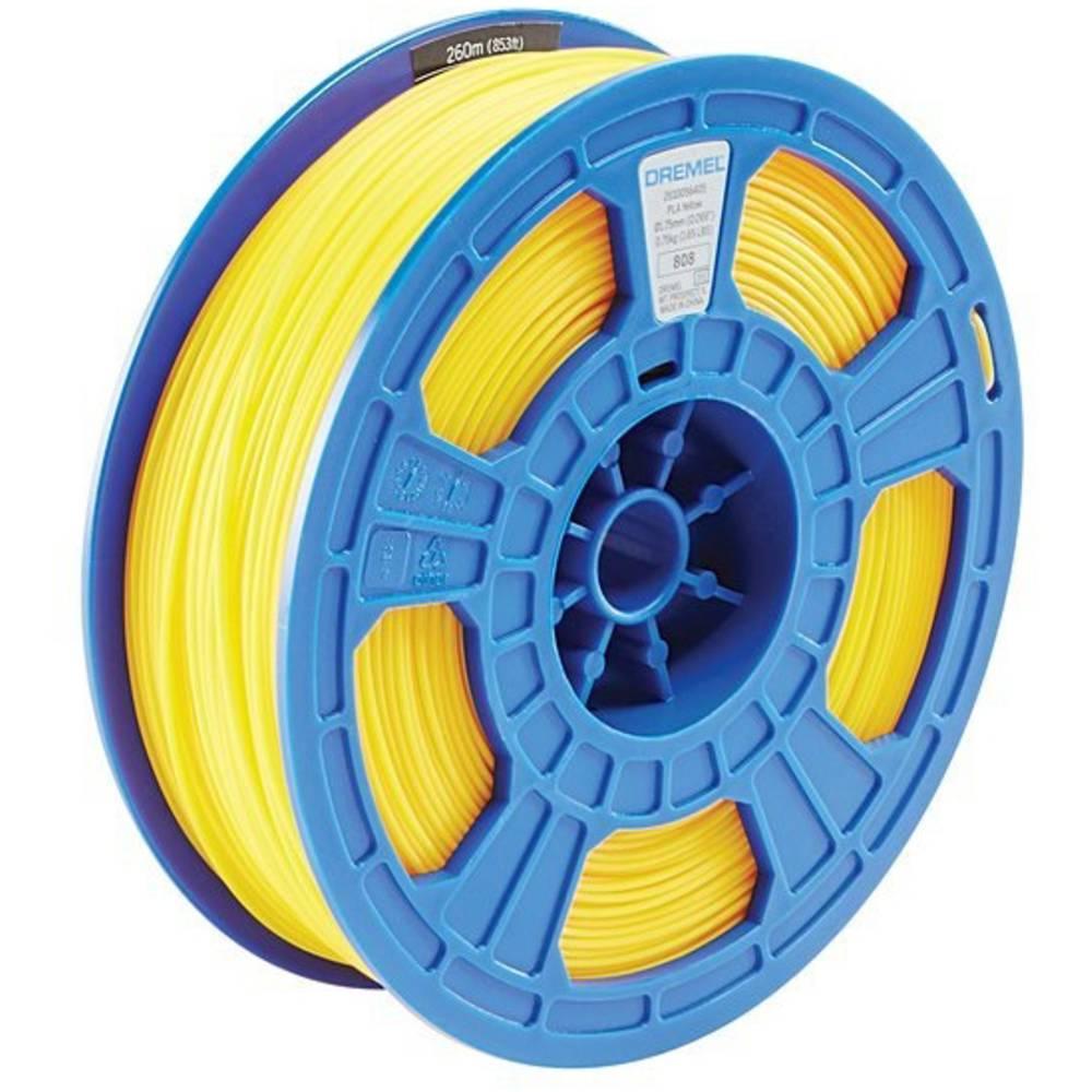 Dremel 2615PL08JA DR 3D PLA Filament D08 gelb RFID 3D-skrivare Filament PLA-plast 1.75 mm Gul 750 g