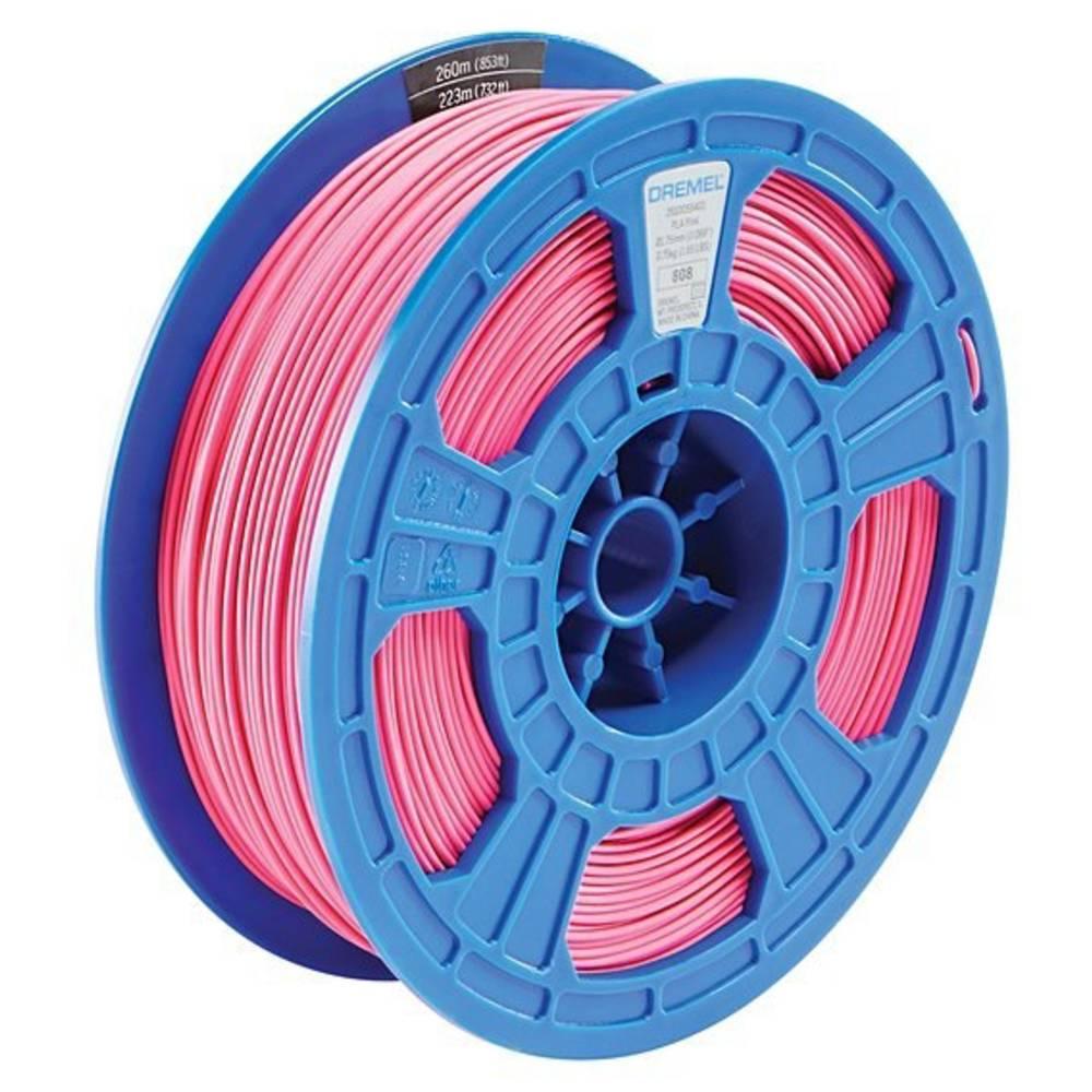 Dremel 2615PL09JA DR 3D PLA Filament D30 pink RFID 3D-skrivare Filament PLA-plast 1.75 mm Rosa 750 g
