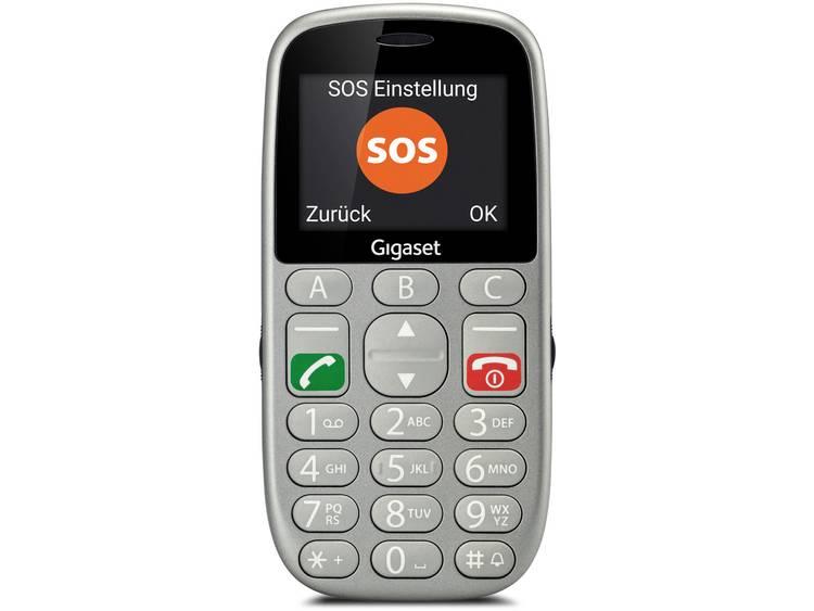 Gigaset GL390 Senioren mobiele telefoon Zilver kopen