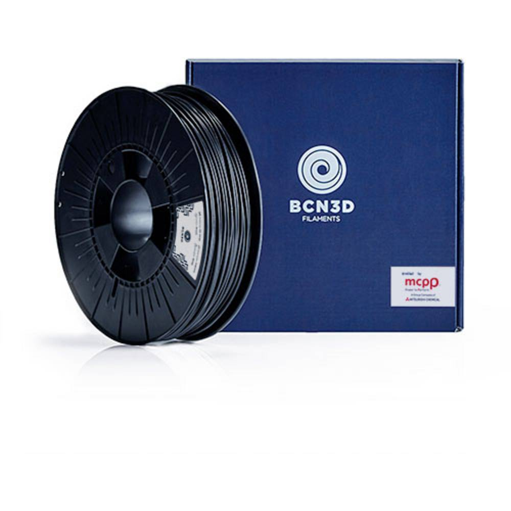 BCN3D PMBC-1000-014 3D-skrivare Filament PLA-plast UV-beständig 2.85 mm 2500 g Svart 1 st