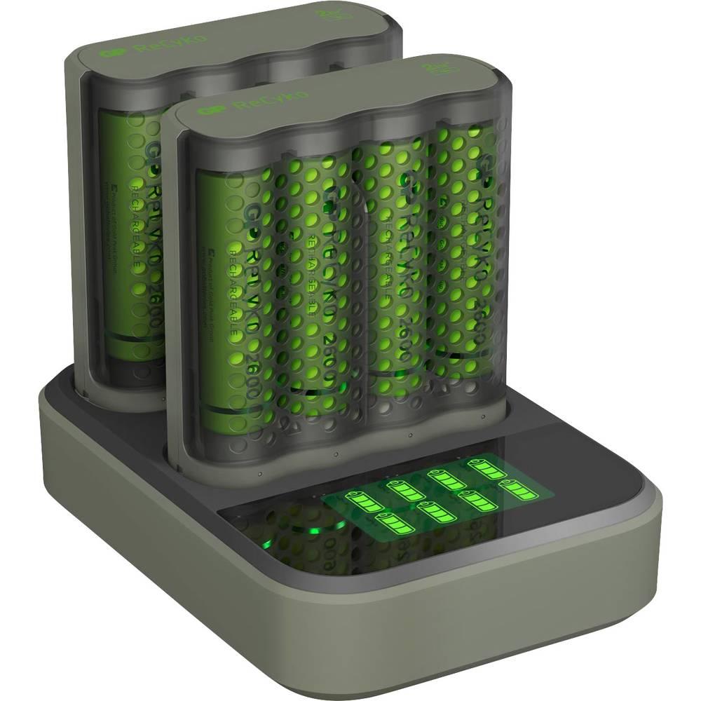 GP Batteries Pro-Line Docking-Station Batteriladdare inkl. batteri NiMH AAA (R03), AA (R6)