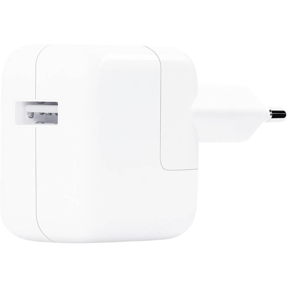 Apple 12W USB Power Adapter Laadadapter Geschikt voor Apple type: iPhone, iPad, iPod MGN03ZM-A (B)