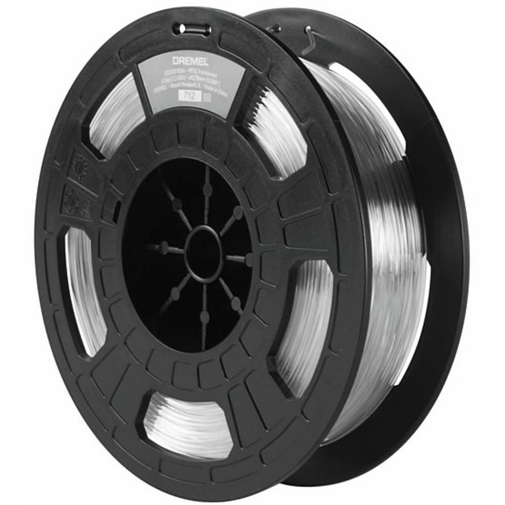 Dremel 2615PG12JA PTEG 3D-skrivare Filament PETG 1.75 mm 750 g Transparent 1 st