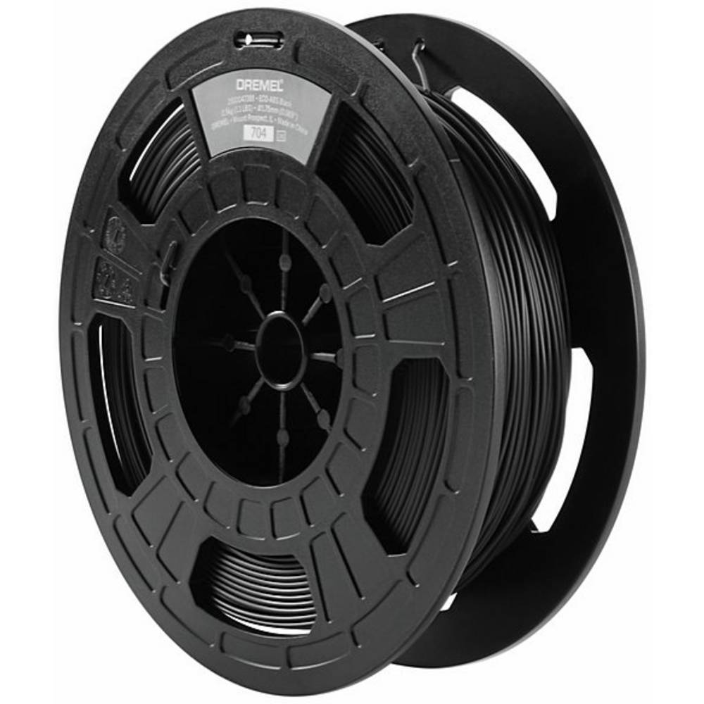 Dremel 2615EC02JA ECO-ABS 3D-skrivare Filament ABS-plast 1.75 mm 750 g Svart 1 st