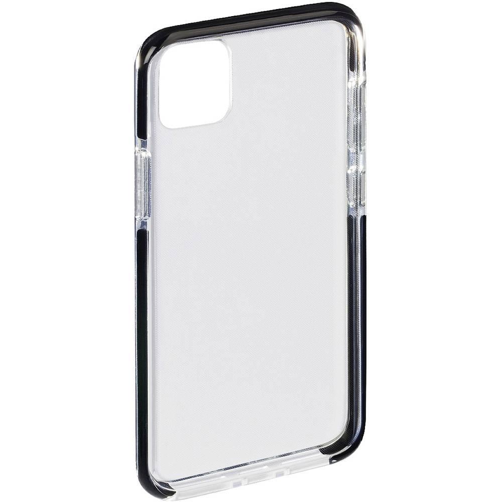 Hama Protector Backcover Apple iPhone 12, iPhone 12 Pro Svart, Transparent