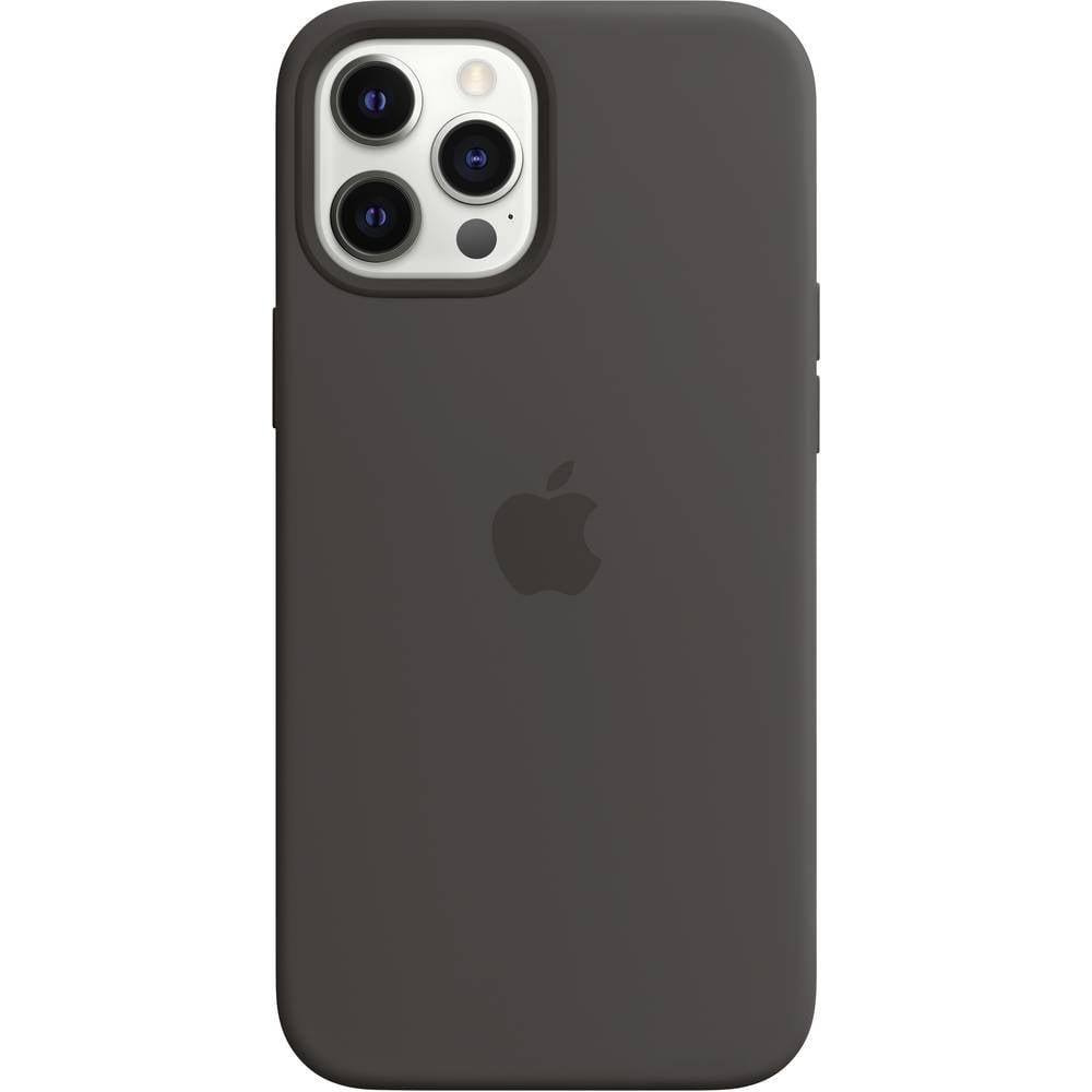 Apple iPhone 12 Pro Max Silikon Case Silikon Case Apple iPhone 12 Pro Max Svart