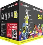 IconBIT protectorset voor hoverboards en e-scooter, maat L
