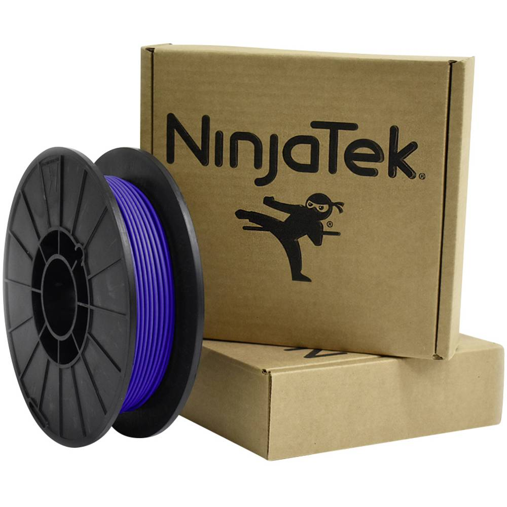 Ninjatek 3DCH0229005 Cheetah 3D-skrivare Filament TPU flexibel, kemiskt beständig 3 mm 500 g Blå 1 st