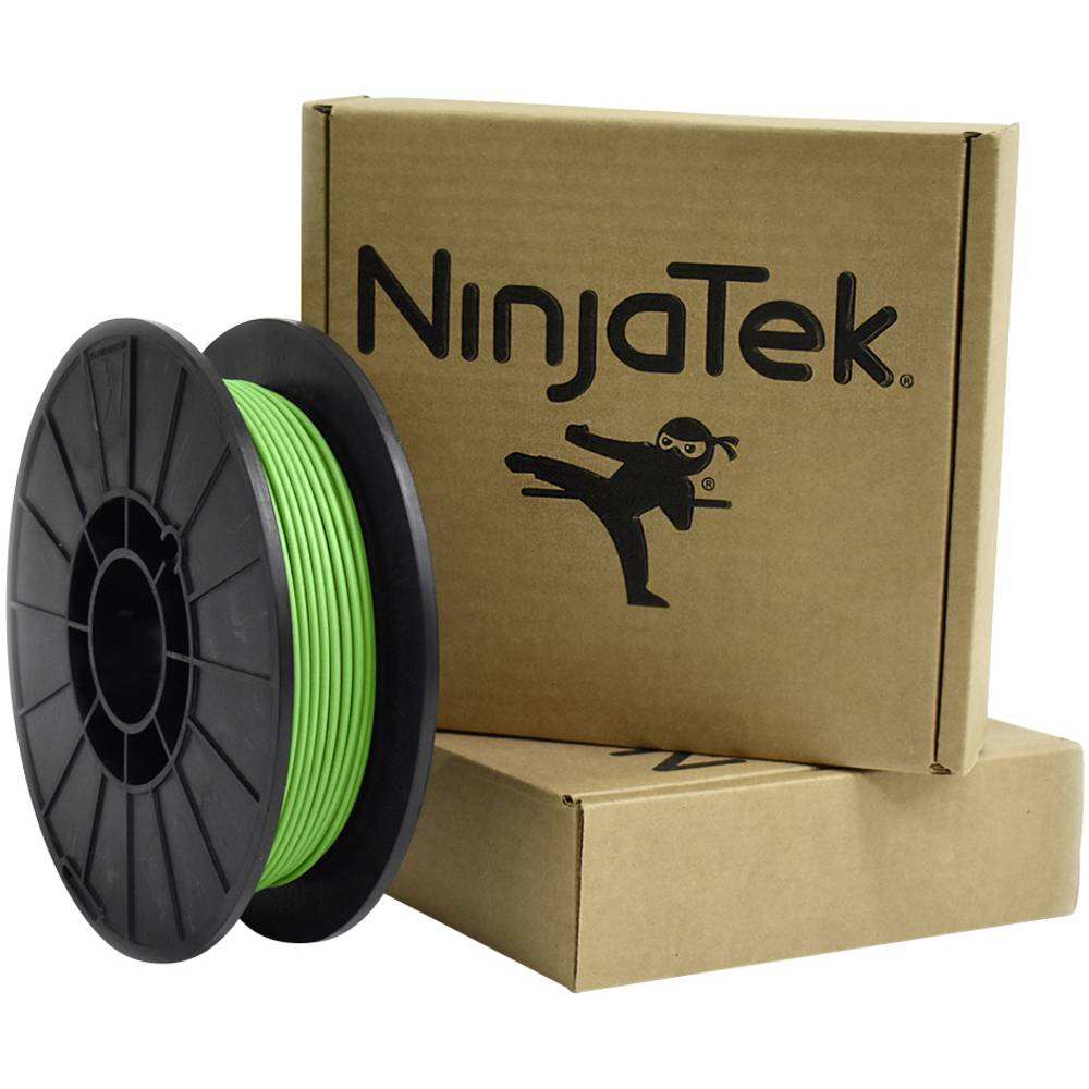 Ninjatek 3DCH0629005 Cheetah 3D-skrivare Filament TPU flexibel, kemiskt beständig 3 mm 500 g Grön 1 st