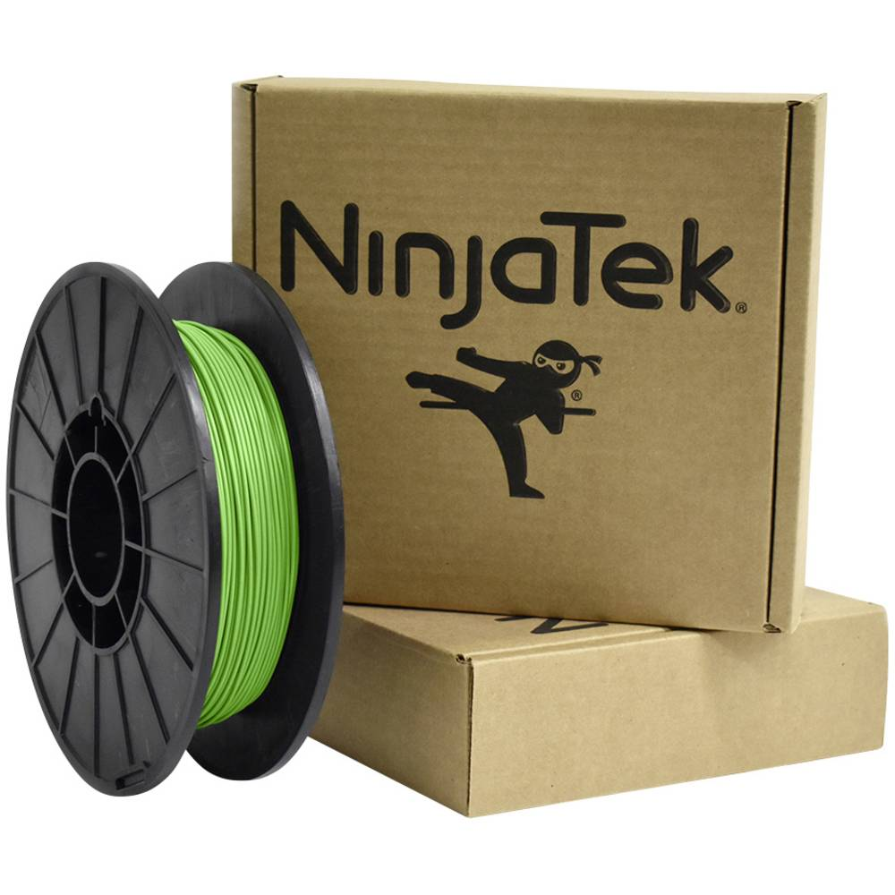 Ninjatek 3DCH0617505 Cheetah 3D-skrivare Filament TPU flexibel, kemiskt beständig 1.75 mm 500 g Grön 1 st