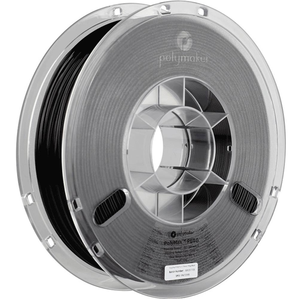 Polymaker 70185 PolyMax 3D-skrivare Filament PETG 1.75 mm 750 g Svart 1 st