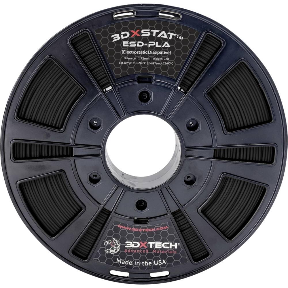 3D Xtech PLA2031000BK0 3DXSTAT Conductive ESD 3D-skrivare Filament PLA-plast 2.85 mm 1000 g Svart 1 st