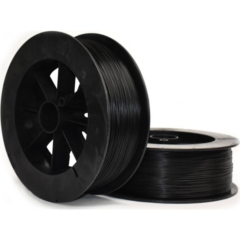 NinjaFlex 3DEL0129005 Eel 3D-skrivare Filament TPU flexibel, kemiskt beständig 3 mm 500 g Svart 1 st