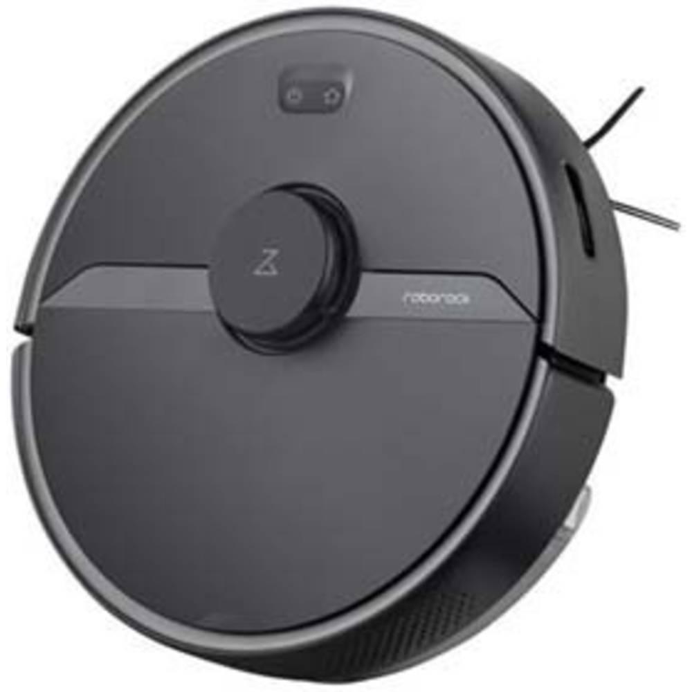 Roborock S6 Pure Black Robotstofzuiger Zwart Spraakgestuurd, Op afstandsbedienbaar, Besturing via App, Compatibel met Amazon Alexa, Compatibel met Google Home
