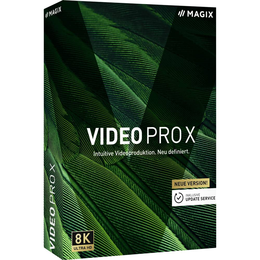 Videoredigering Magix Video Pro X (12) Windows Fullständig version 1 licens