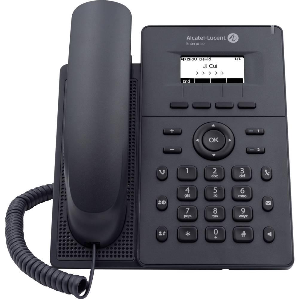 Alcatel-Lucent Enterprise H2 Halo SIP Fast telefon VoIP Telefonsvarare, Handsfree, Headset uttag LCD Svart