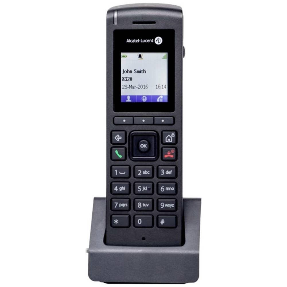 Alcatel-Lucent Enterprise 8212 DECT-telefon Svart