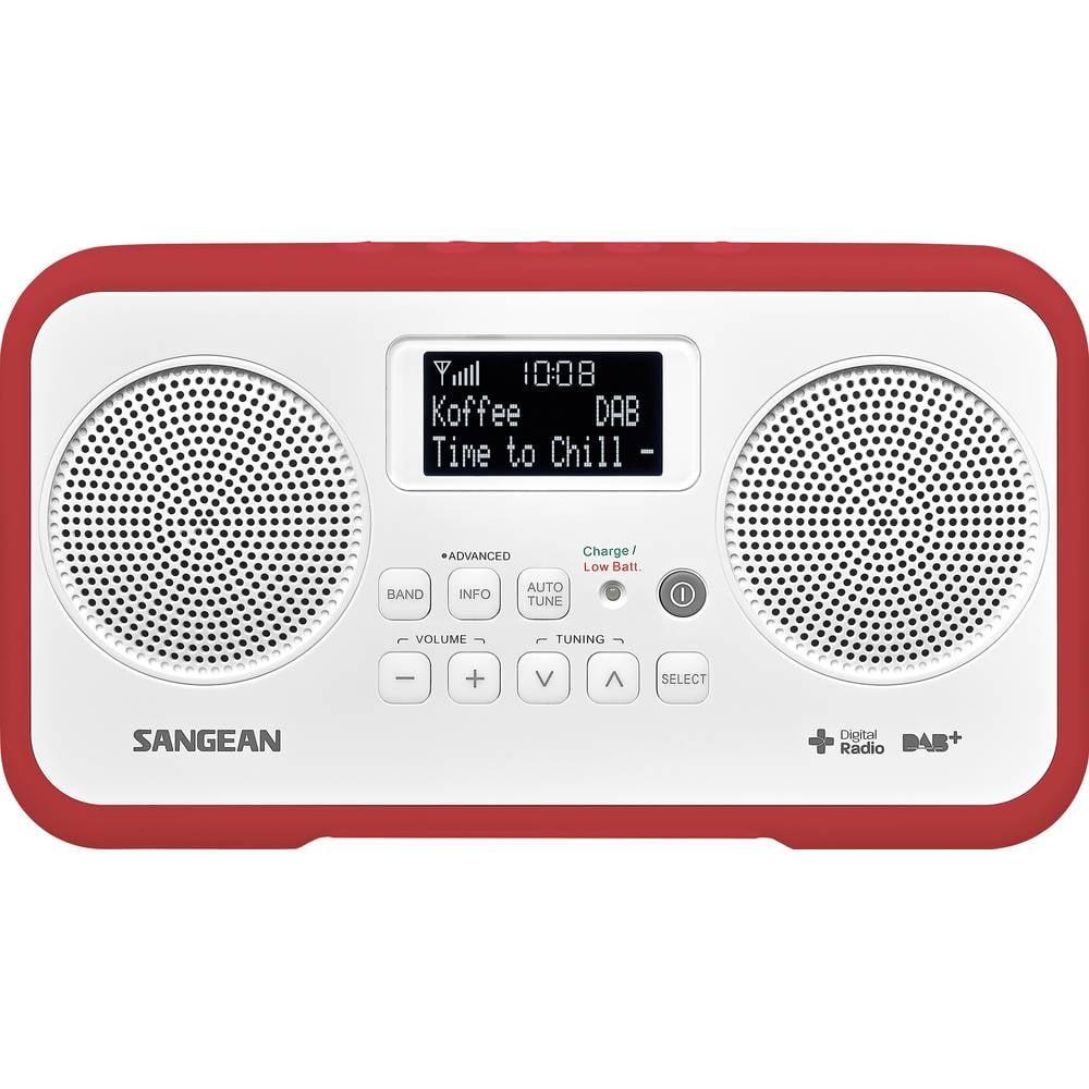 Sangean TRAVELLER 770 Tafelradio DAB+, DAB, FM DAB+, FM Toetsvergrendeling Rood