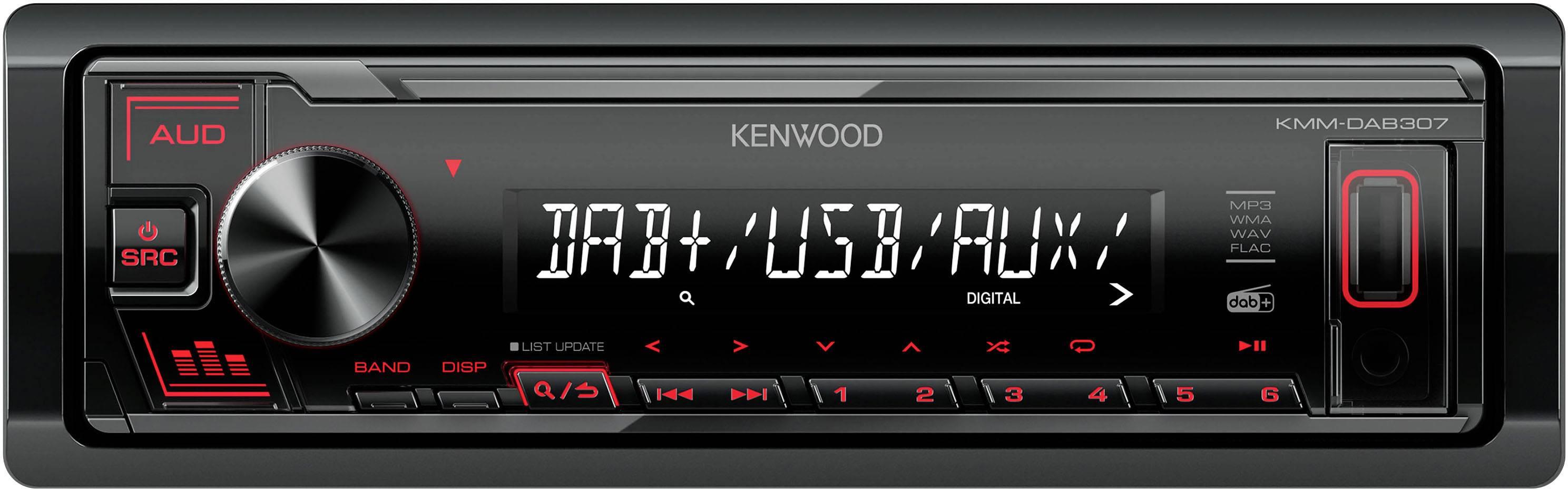 Conrad-Kenwood KMMDAB307 Autoradio enkel DIN DAB+ tuner-aanbieding
