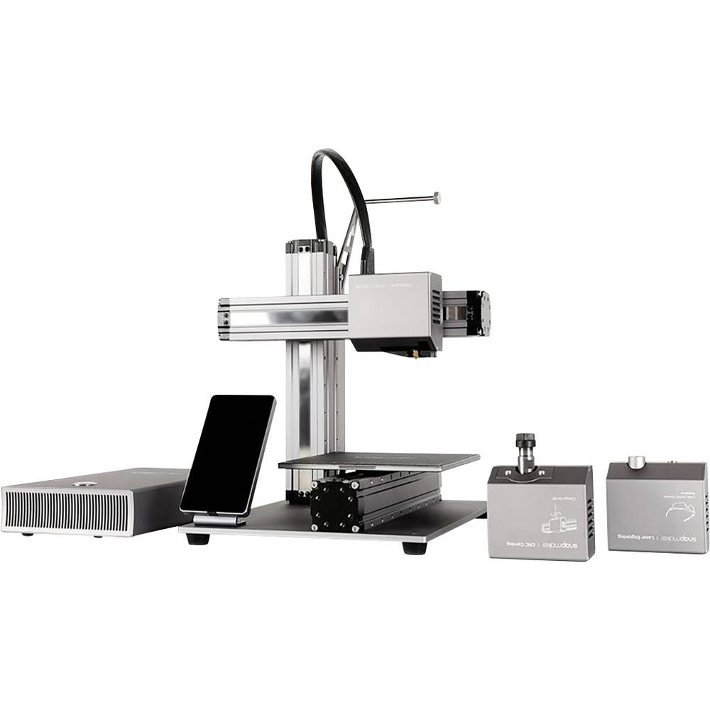 snapmaker A150 3D-printer Incl. behuizing, Incl. software, Geïntegreerde camera
