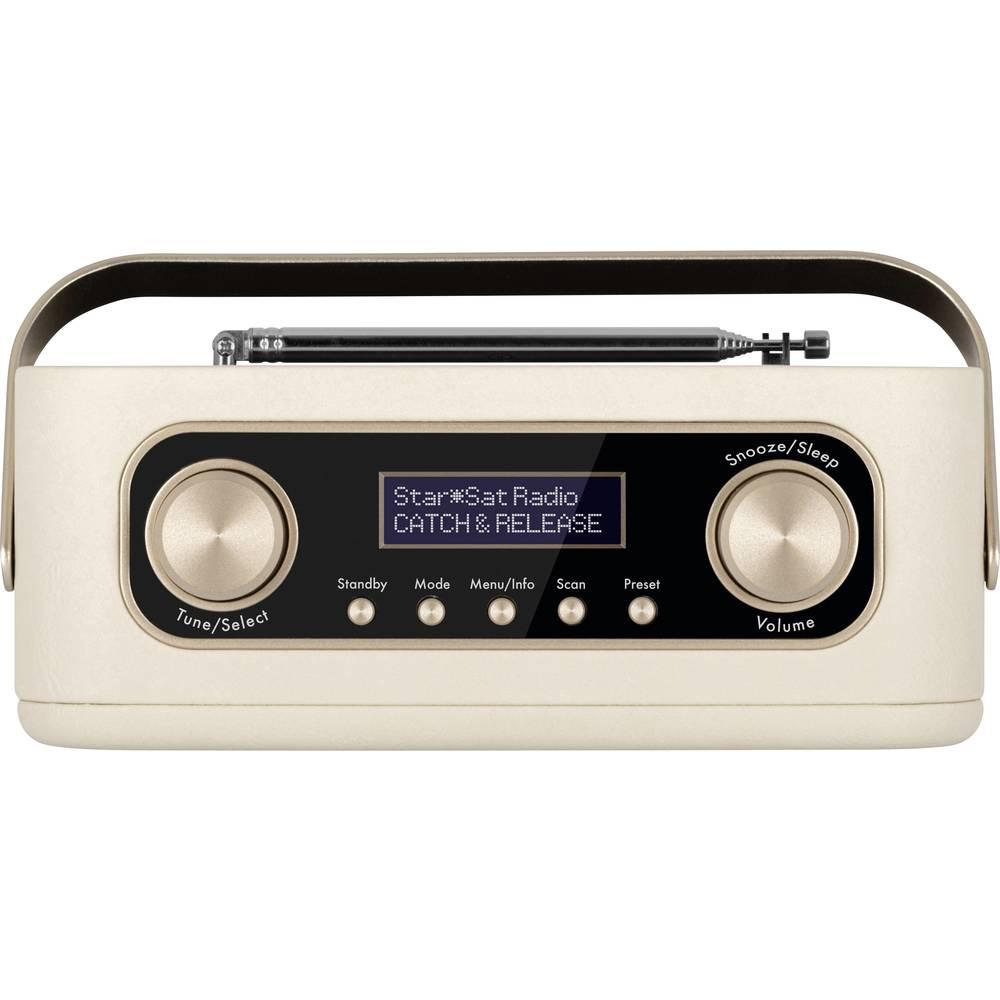 Nordmende Transita 30 Tafelradio DAB+, FM Bluetooth, DAB+, FM Wekfunctie Beige