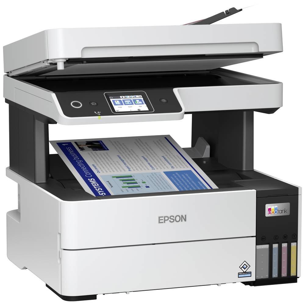 Epson EcoTank ET-5170 Bläckstråle-MFP A4, A4, A6 Skrivare, skanner, kopiator, fax WiFi