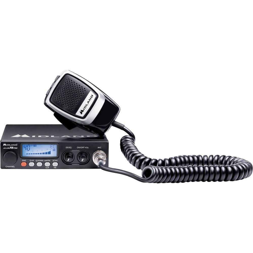 Midland Alan78 Pro, CB Funk C423.16 CB-radio