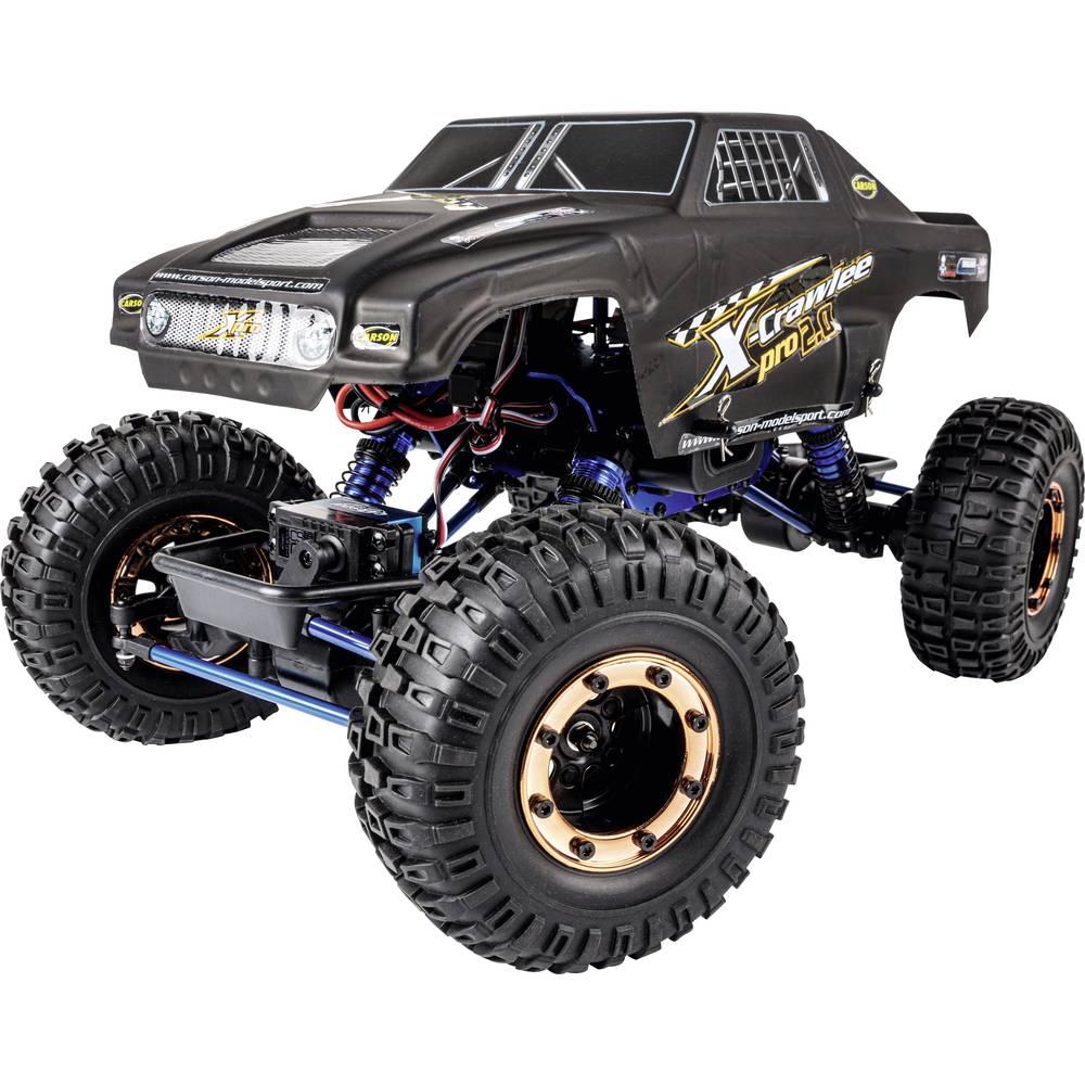 RC modellbil Crawler 1:10 Carson Modellsport X-Crawlee Pro 2.0 Elektrisk 100% RtR