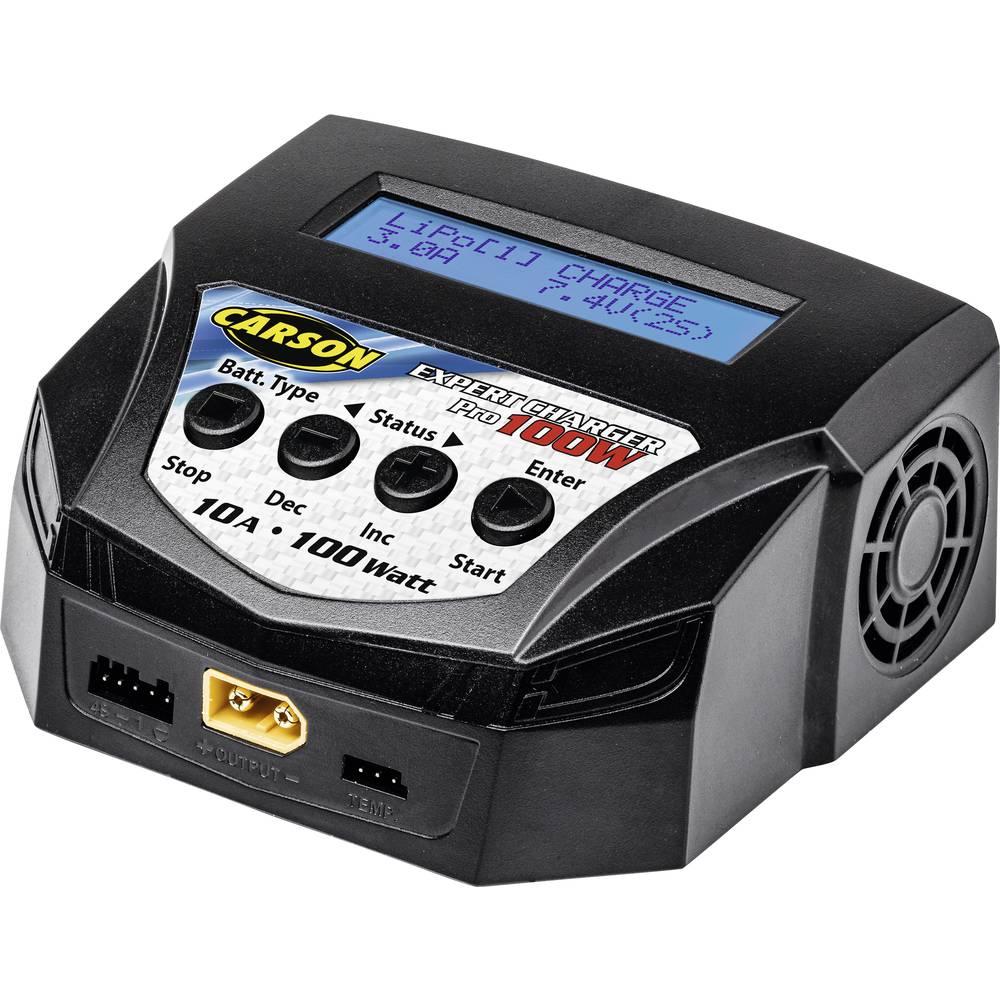 Carson Modellsport Expert Charger Pro 100 W RC-batteriladdare