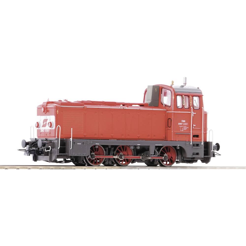 Roco 72910 H0 diesellocomotief Rh 2067 van de ÖBB