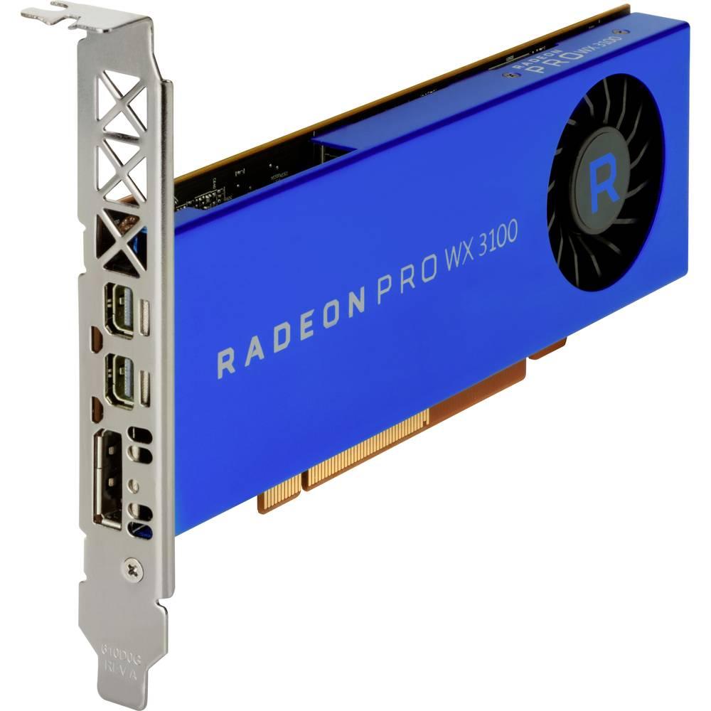 HP Grafikkort AMD Radeon Pro WX 3100 4 GB GDDR5