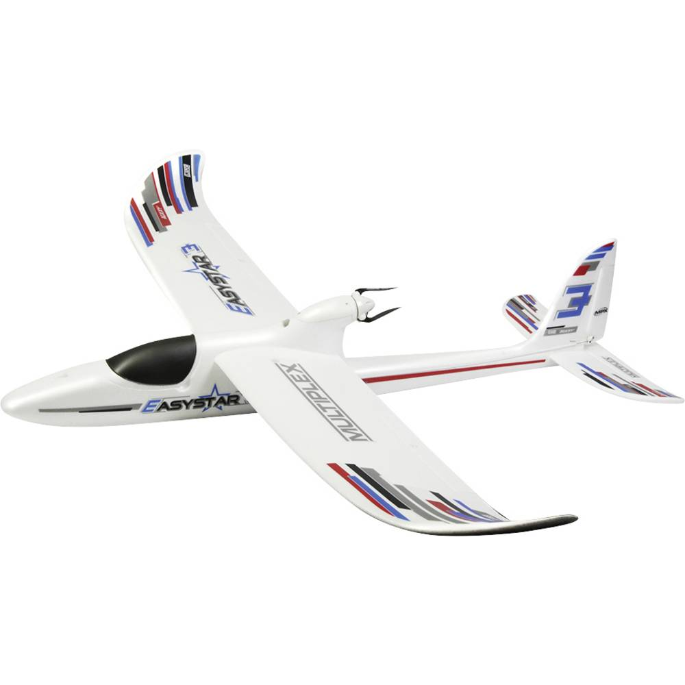 Multiplex BK Easy Star 3 Vit RC Modellflyg nybörjare Byggsats 1366 mm