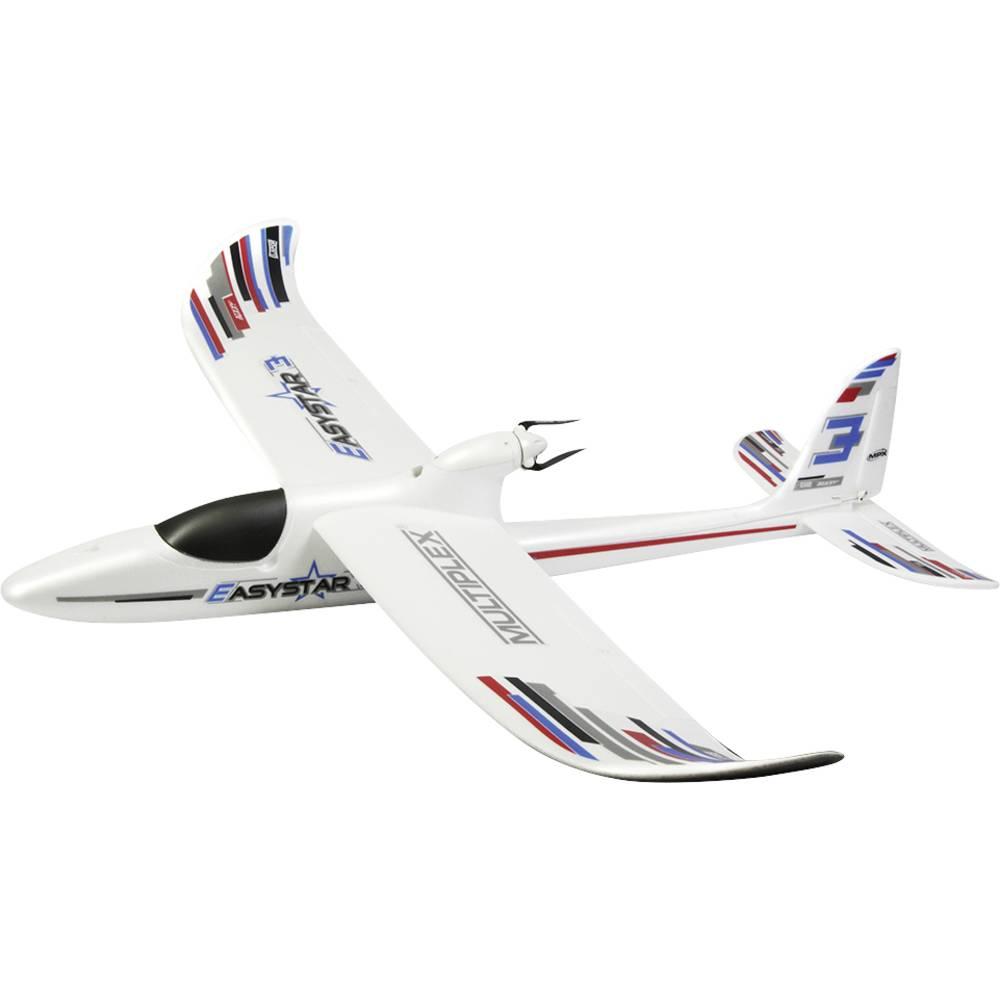 Multiplex RR+ Easy Star 3 Vit RC Modellflyg nybörjare RR 1366 mm