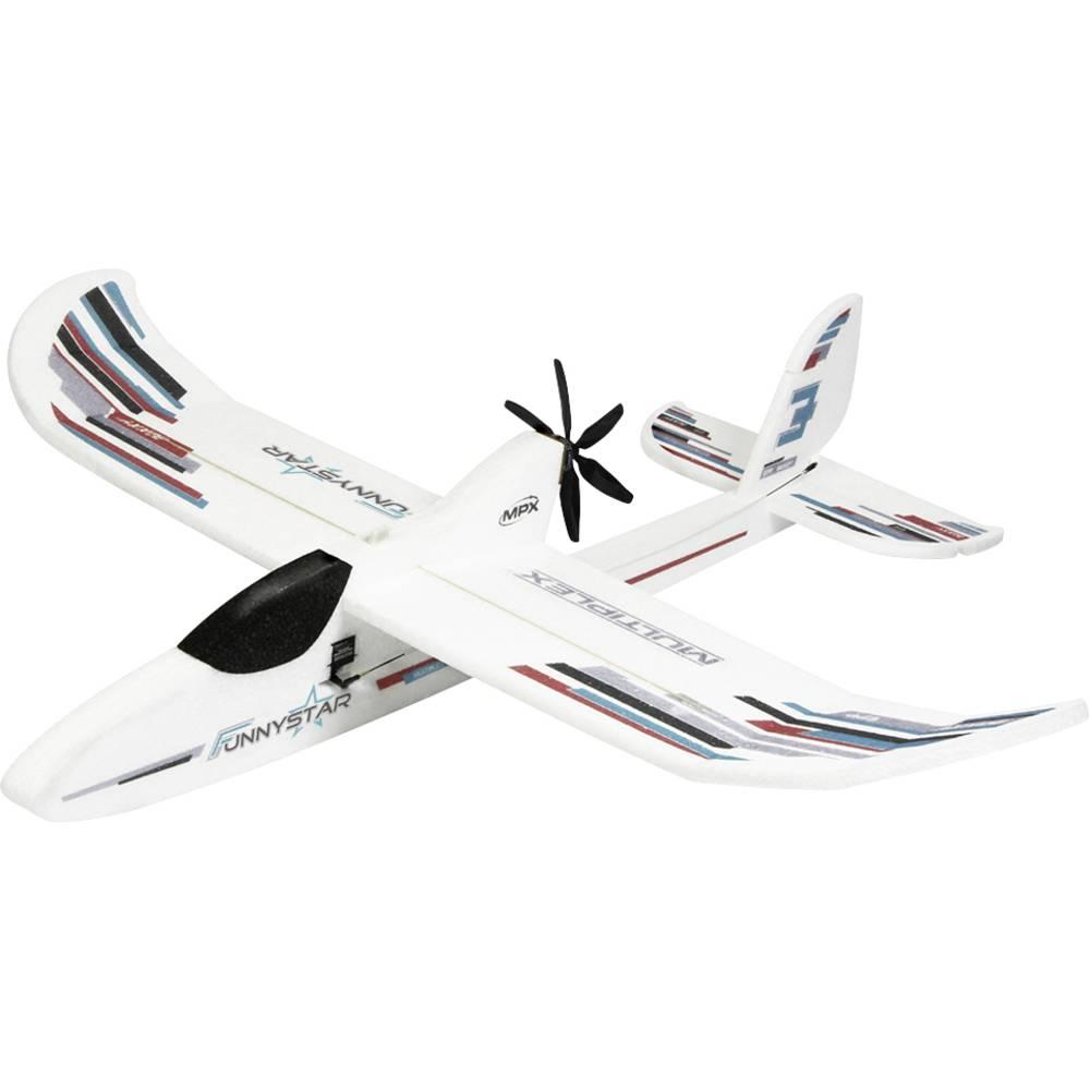 Multiplex Bk FunnyStar Vit RC Modellflyg nybörjare Byggsats 850 mm