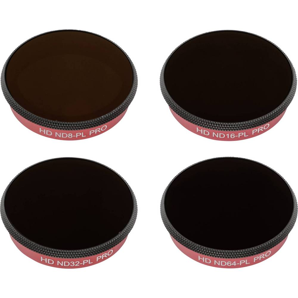 PGYTECH filter Combo 4-pack PRO ND-PL för DJI Osmo action